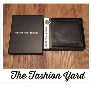 GEOFFREY BEENE Colored Edge Wallet